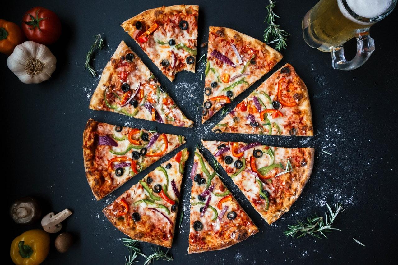 Pizza i Drammen